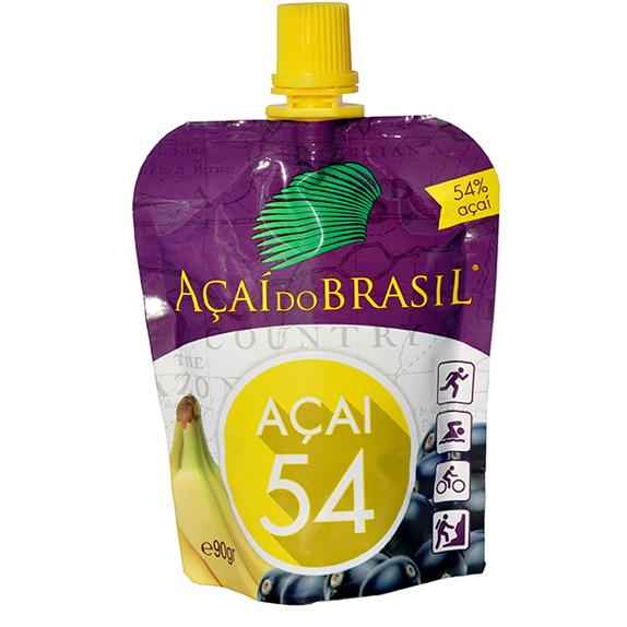 Bebida de acai do Brasil con banana