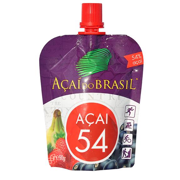 Bebida de acai do Brasil con fresa